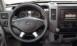 Armaturenbrett mercedes  CS-Reisemobile basic vehicle MB Sprinter