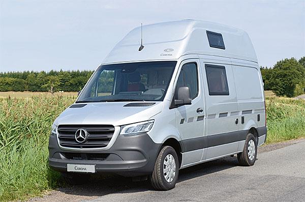 cs-reisemobile - wohnmobil corona auf basis von mb sprinter kastenwagen
