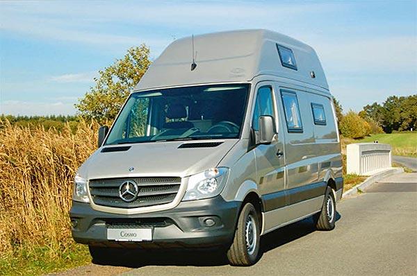 cs reisemobile wohnmobil cosmo auf basis von mb sprinter. Black Bedroom Furniture Sets. Home Design Ideas