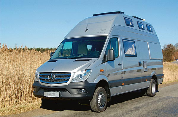 Mercedes Sprinter Amenage Moto Cross
