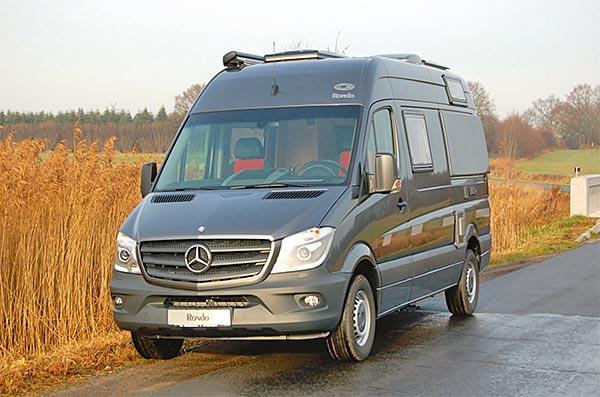 cs reisemobile wohnmobil rondo auf basis von mb sprinter kastenwagen. Black Bedroom Furniture Sets. Home Design Ideas