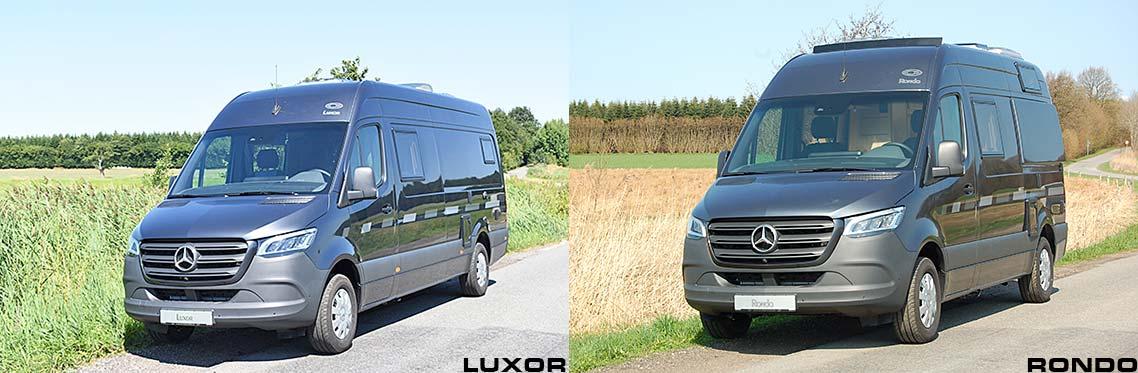 CS-Reisemobile - camper van based on MB Sprinter
